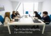 Tips To Decide Budgeting For Office Fit-Out